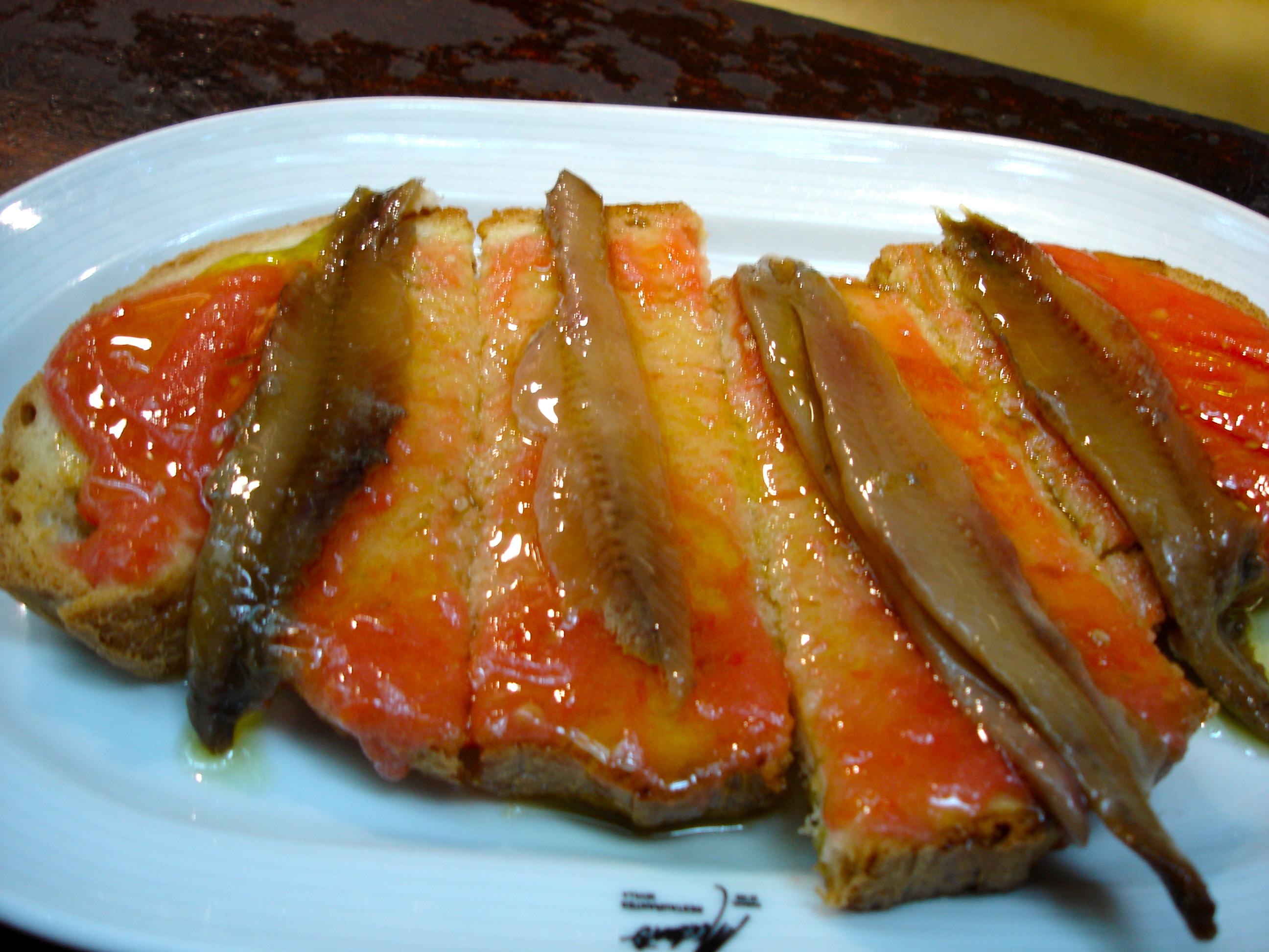 on toast toast i cinnam on toast grappolo anchovies on toast anchovies ...