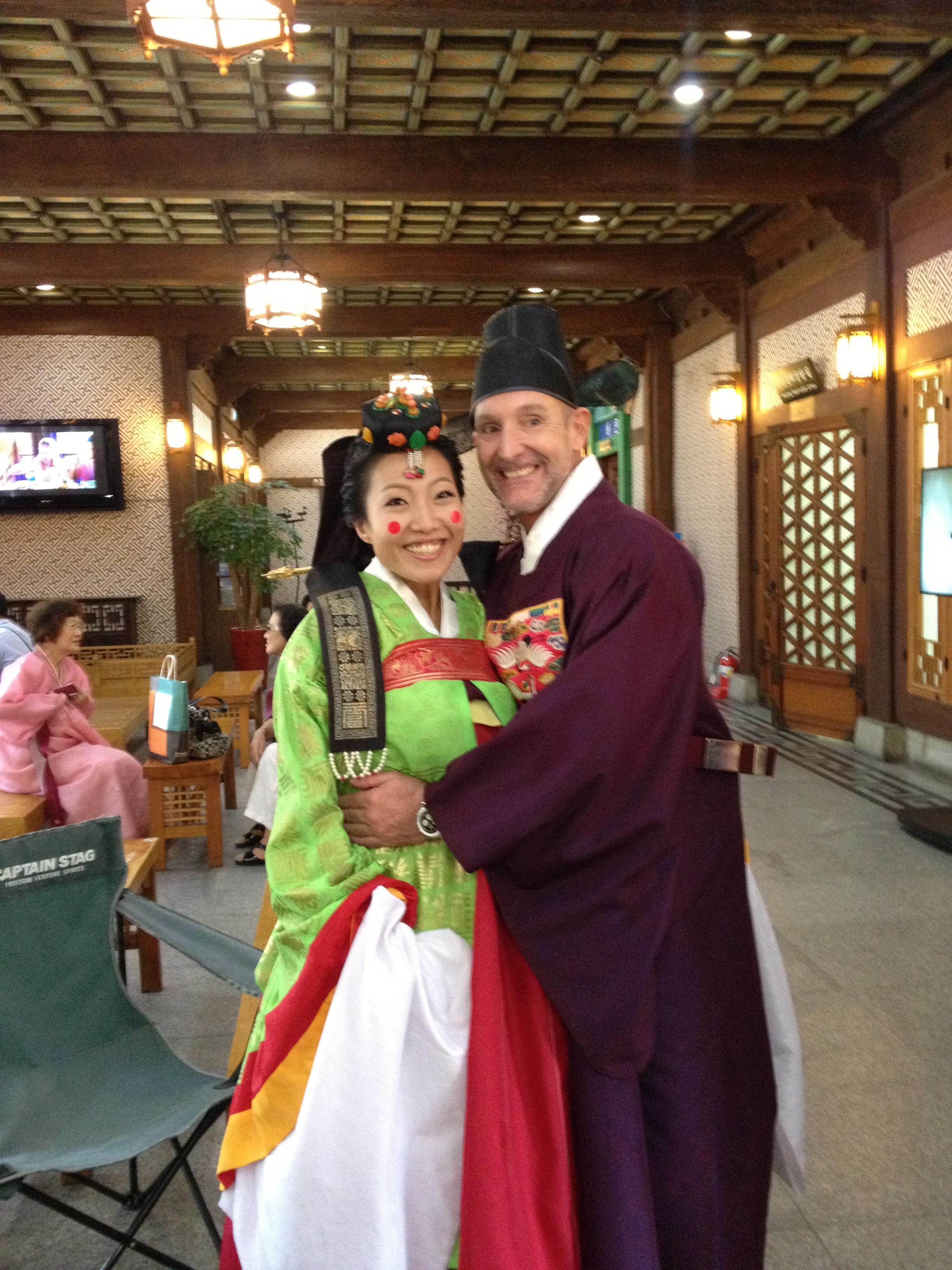 Traditional Korean Wedding In Seoul